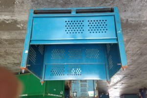 Steel Bins 36 x 48 x 36 h  item 312