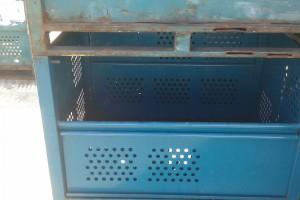 Steel Bins 48 x 36 x 36 item 312
