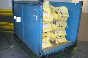 Steel Bins 70 x 48 x 50 high item 310