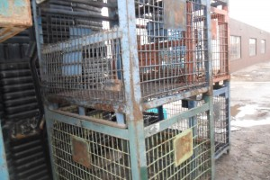 Steel mesh baskets 54 x 44 x 36 ID item 324