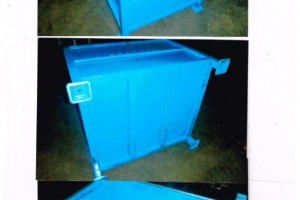 Steel Bins 34.5 x 40.5 x 32.5 h item 335