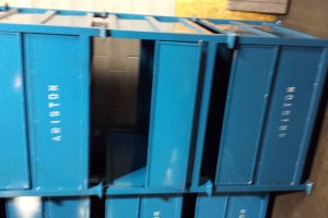 Steel Bins 45 x 48 x 34 item 336