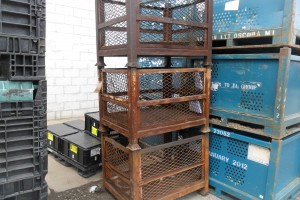 Steel Mesh Baskets 30 x 40 x 31 h 22 ID item 353