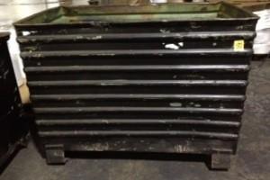 27.5 x 44 x 32.5 h Steel Corrugated Bins item 263 tech
