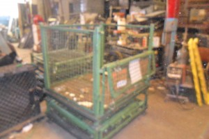 Steel Collapsible Baskets39x48x39  32 ID item 387