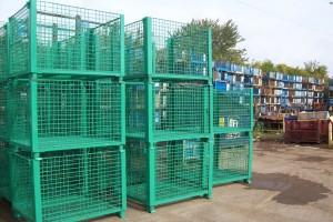 Steel Mesh Baskets40x48x 36 H 30 ID item 388