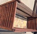 Steel Mesh Baskets 108x44x58 item 393
