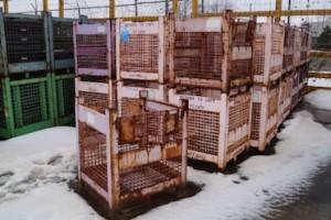Steel Mesh Baskets 30x30x30 item 392