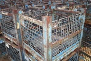 Steel Mesh Baskets 32x36x24 item 390