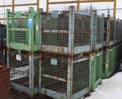 Steel Mesh Baskets 33x33x33 item 391