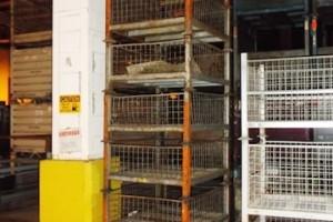 Steel Mesh Baskets 34.5 x 40.5x 18 H item 417