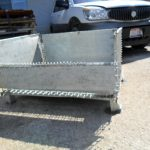 steel collapsible baskets 33 x 41 x 23 h 17 id item 486 2