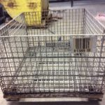 steel collapsible baskets 40 x 48 x 30 h 24 id item 483 2