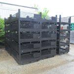steel mesh baskets 45 x 58 x 24 h 12 id item 484 2
