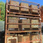 steel mesh baskets 48 x 108 x 49 h 40 id item 485 2